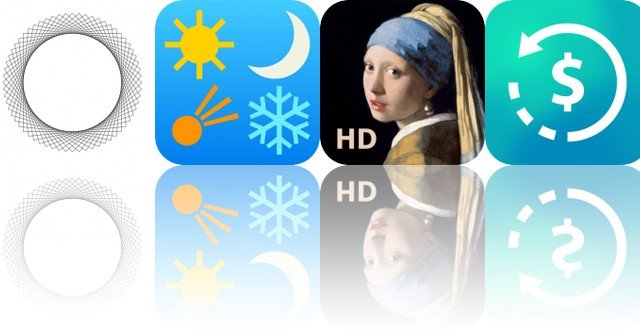 Today's Apps Gone Free: Pulse Breathing, American Almanac, Portrait Painting and More