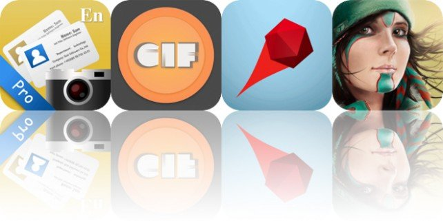 Today's Apps Gone Free: SamCard, Giflay, Deflecto and More