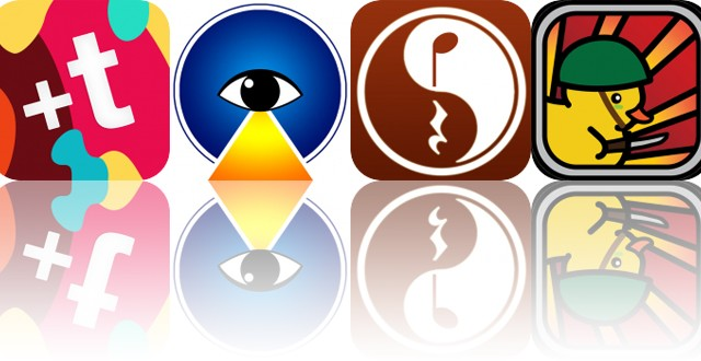 Today's Apps Gone Free: Fontmania, Blue Light Therapy, Time Guru and More
