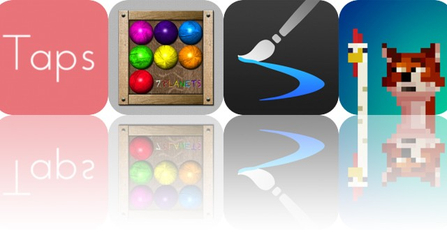 Today's Apps Gone Free: Taps, 7 Planets, Inspire and More