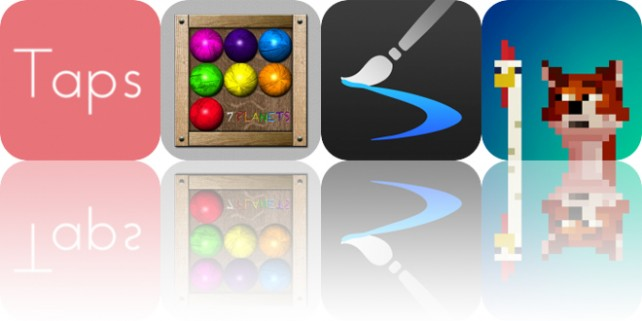 photo image Today's Apps Gone Free: Taps, 7 Planets, Inspire and More