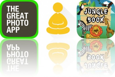 Today's Apps Gone Free: The Great Photo App, Thankful For and Jungle Learning