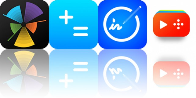 Today's Apps Gone Free: The Particles, Basic Calculator, Pencil-In and More