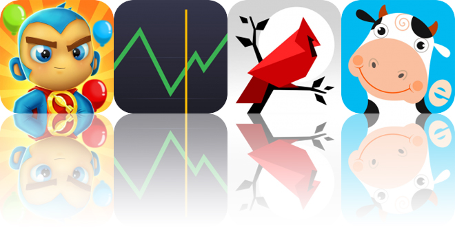 Today's Apps Gone Free: Bloons Supermonkey 2, Cryptofolio, Cardinal Land and More