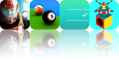 Today's Apps Gone Free: Xenowerk, Pool Break, Noti:Do and More
