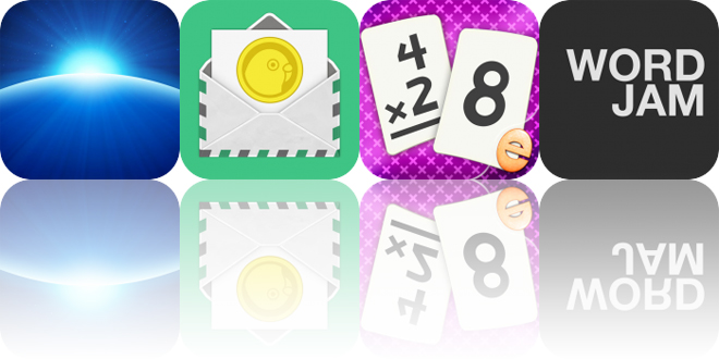 Today's Apps Gone Free: Earthlapse, Bill Assistant, Multiplication Flash Cards and More