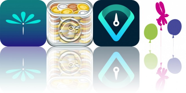 Today's Apps Gone Free: Worry Watch, Savings Goals, Vekt and More