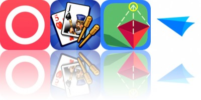 Today's Apps Gone Free: Mood, Cribbage, Draw 3D Junior and More