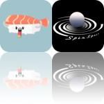 Today's Apps Gone Free: Sally's Law, Sushi Stickers, Spin Spell and More
