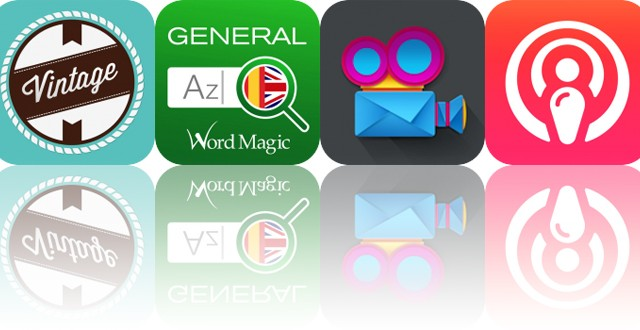 Today's Apps Gone Free: Vintage, English Spanish Dictionary, VideoShowHero and More