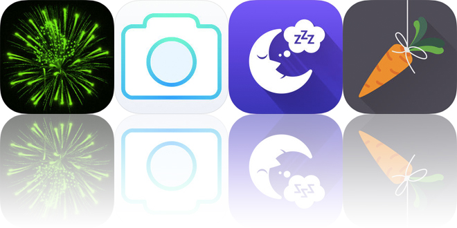 Today's Apps Gone Free: Pyrotexni, NoLocation, Thunderstorm Sounds and More