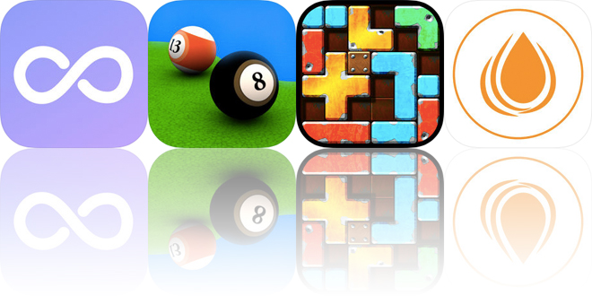 Today's Apps Gone Free: Weple, Pool Break, Slide Tetromino and More