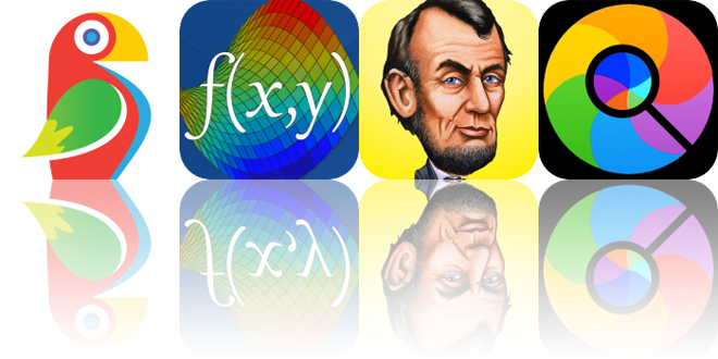 Today's Apps Gone Free: Brushstroke, Visual Math, Who Was and More