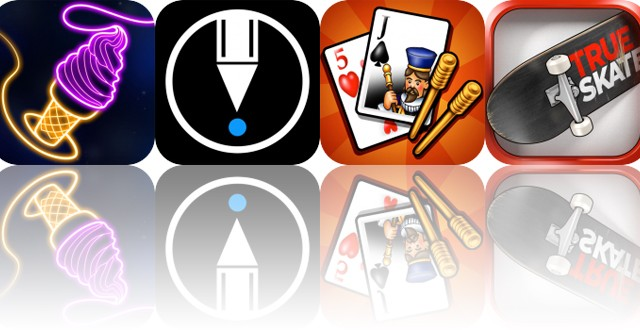 Today's Apps Gone Free: Find the Line, LetSketch, Cribbage and More
