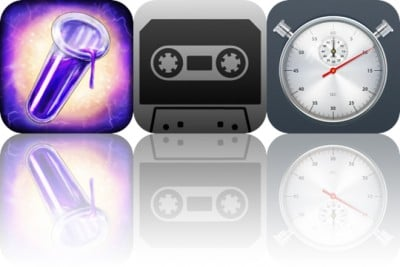 Today's Apps Gone Free: The Secret of Chimera Labs, Tape and Stopwatch