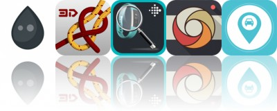 Today's Apps Gone Free: Inkwork, Knots 3D, Find My Fitbit and More