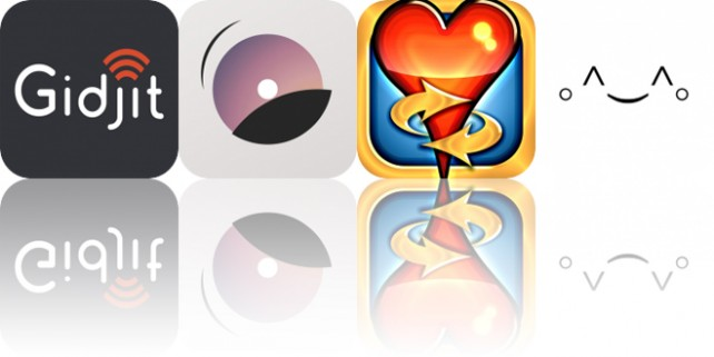 Today's Apps Gone Free: Gidjit, TakeAction, Hearts Tournament and More