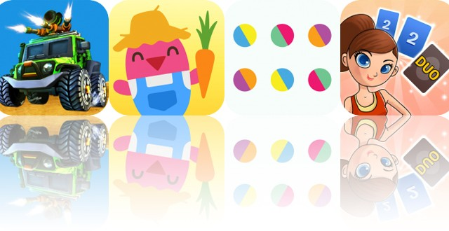 Today's Apps Gone Free: Toon War, Sago Mini Farm, Color Tap and More