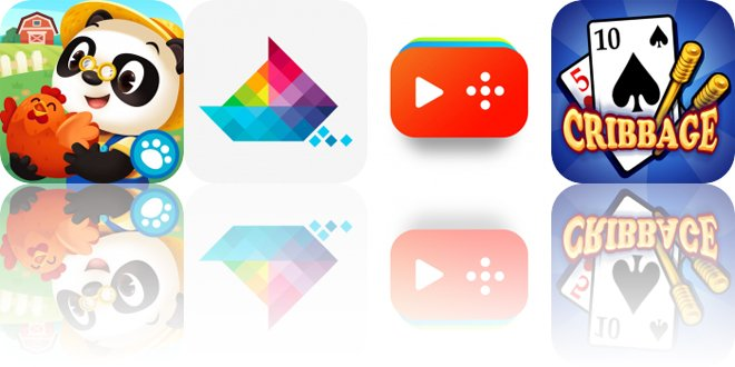 Today's Apps Gone Free: Dr. Panda Farm, Sea of Squares, Funnel and More