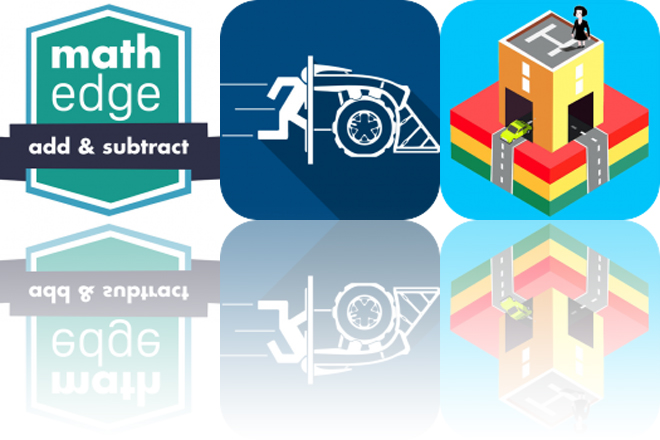 Today's Apps Gone Free: MathEdge, Tile Rider and Blox 3D City Creator