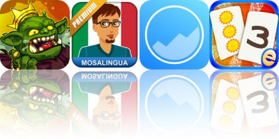 Today's Apps Gone Free: Dungelot, MosaLingua, Better Habits and More