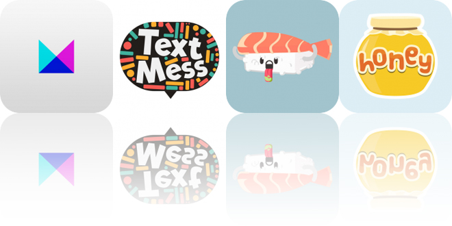 Today's Apps Gone Free: Months, Text Mess, Sushi Stickers and More