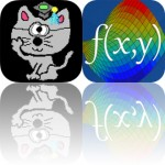 Today's Apps Gone Free: Step Journal, Math Shooter, Visual Math 4D and More
