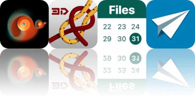 Today's Apps Gone Free: Flux Vortex, Knots 3D, FileCalendar and More