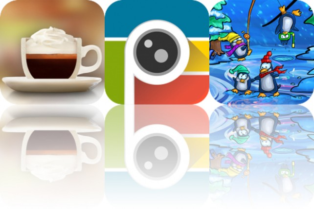 Today's Apps Gone Free: The Great Coffee App, PhotoTangler and Drew Meets Boo