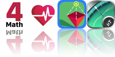 Today's Apps Gone Free: 4th Grade Math Testing Prep, Heart Rate Pro, Draw 3D Junior and More