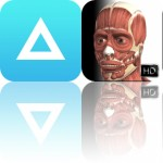 Today's Apps Gone Free: iBasket, Air Lookout, Visual Muscles 3D and More