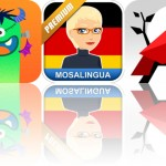 Today's Apps Gone Free: Monster Mingle, MosaLingua and Cardinal Land