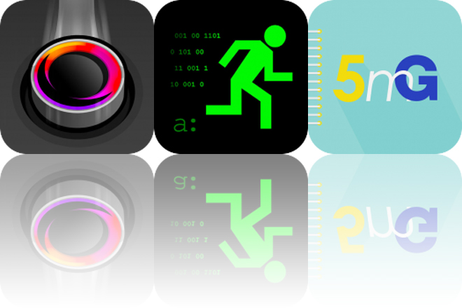 Today's Apps Gone Free: Glide, Hack Run and Five Minutes of Gratitude