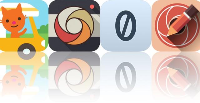 Today's Apps Gone Free: Sago Mini Road Trip, Pixagram, Zero+ and More