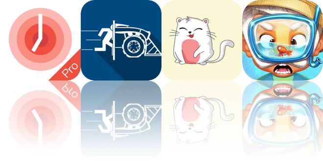 Today's Apps Gone Free: One Tomato, Tile Rider, Purrfect Cat Stickers and More