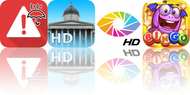 Today's Apps Gone Free: NOAA Weather Alerts, National Gallery, OrasisHD and More