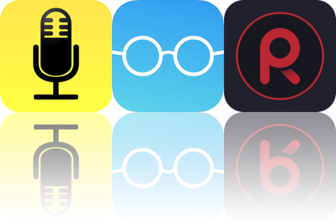 Today's Apps Gone Free: Audio Notebook, Reading Habit and Voice Record