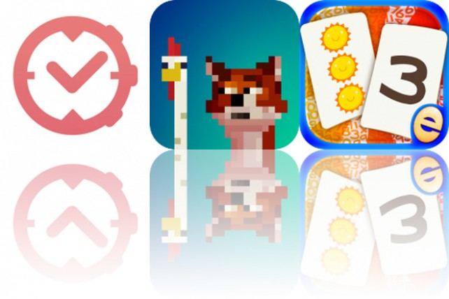 Today's Apps Gone Free: aTimeLogger, Fox Eats Chicks and Number Games