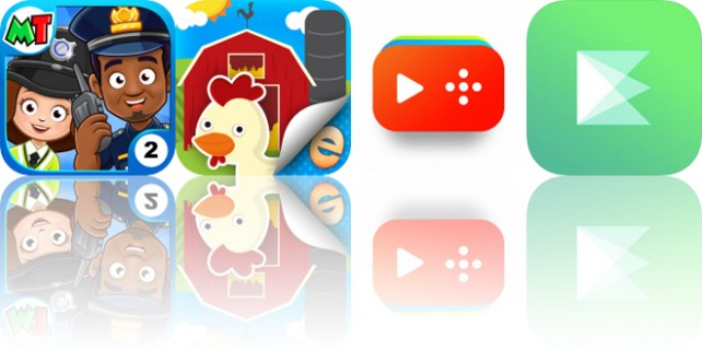 Today's Apps Gone Free: My Town: Police, Farm Story Maker, Funnel and More