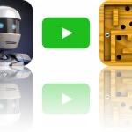 Today's Apps Gone Free: Atom Run, Ellie's TV and Modern Labyrinth