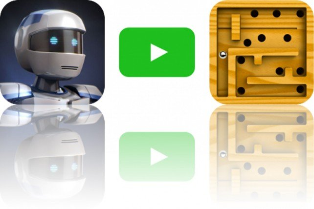 photo of Today's Apps Gone Free: Atom Run, Ellie's TV and Modern Labyrinth image
