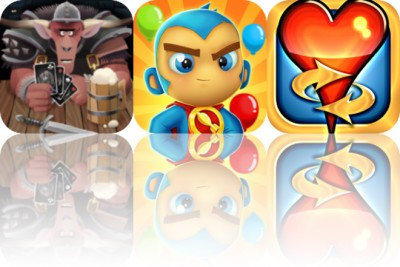 Today's Apps Gone Free: Card Crawl, Bloons Supermonkey 2 and Hearts Tournament