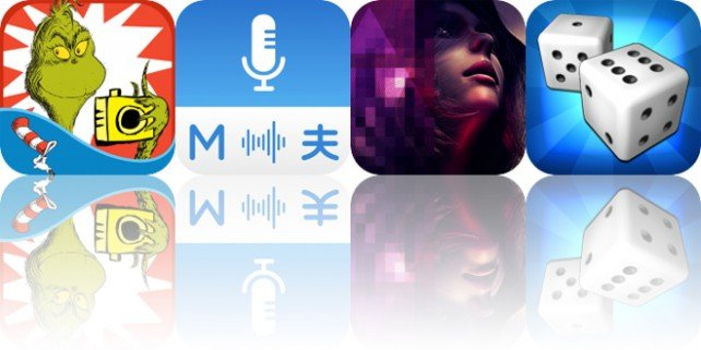 Today's Apps Gone Free: Dr. Seuss Camera, Multi Translate Voice, Republique and More