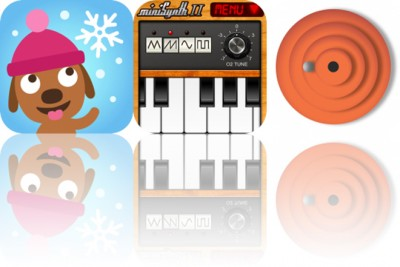 Today's Apps Gone Free: Sago Mini Snow Day, miniSynth 2 and Maze Zen