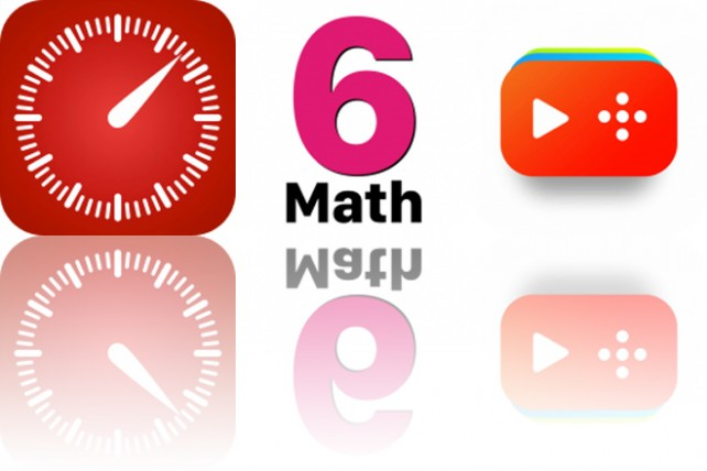 Today's Apps Gone Free: Now Then, 6th Grade Math Testing Prep and Funnel