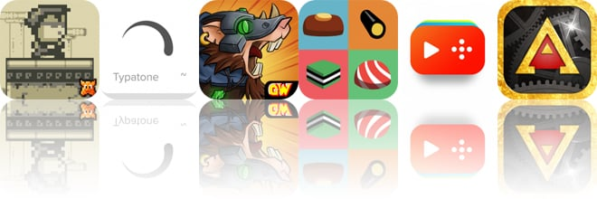 Today's Apps Gone Free: Stardash, Typatone, Warhammer and More