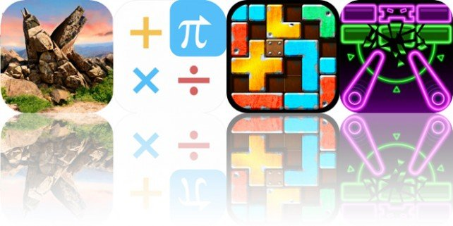 Today's Apps Gone Free: Panmorphia, CALC Swift, Slide Tetromino and More