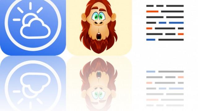 Today's Apps Gone Free: Digital Barometer S10, BigfootMoji and Blink