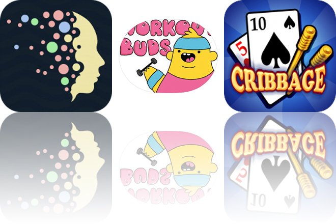 Today's Apps Gone Free: Dream Bubblez, Workout Buds and Cribbage HD