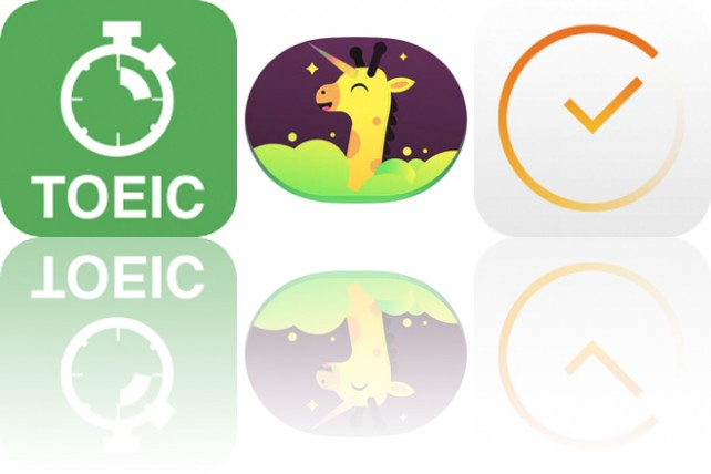 Today's Apps Gone Free: TOEIC, Wild Unicorn Animal Stickers and TeeVee
